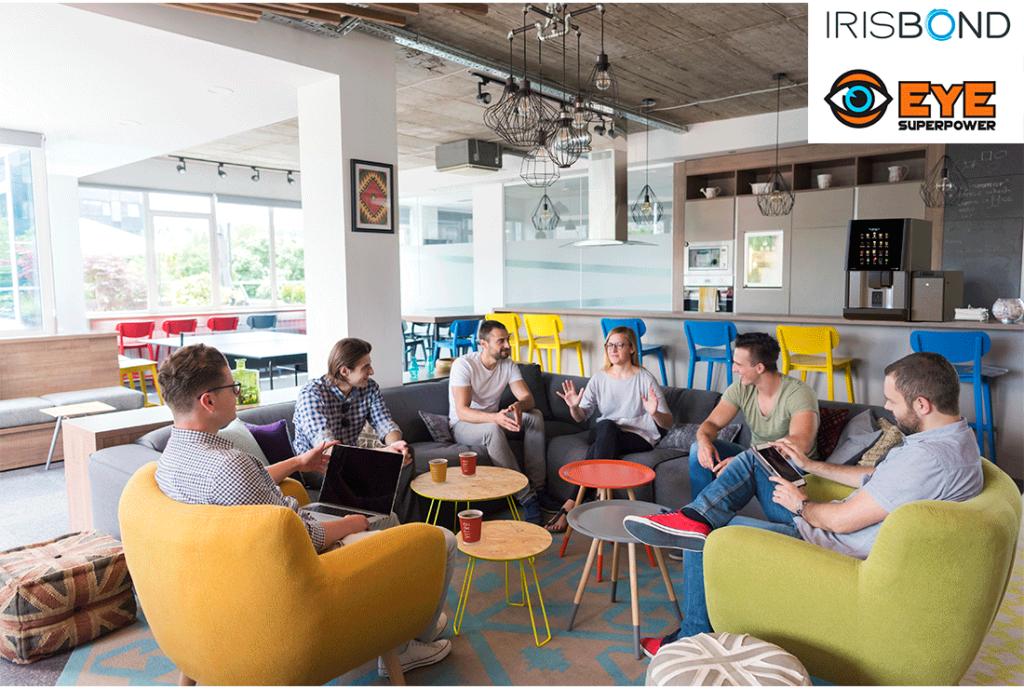 Azkoyen et Irisbond présentent la première machine à café avec « eye tracking » au Mobile World Congress